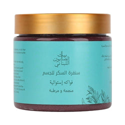 Bayt Al Saboun-Body Sugar Scrub Passion Fruit 500G Online UAE | BEAUTY ON WHEELS