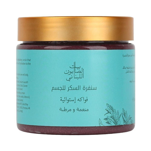 Body Sugar Scrub Passion Fruit 500G