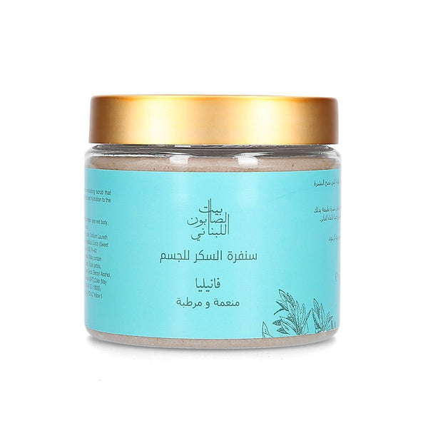 Body Sugar Scrub Vanilla 500G
