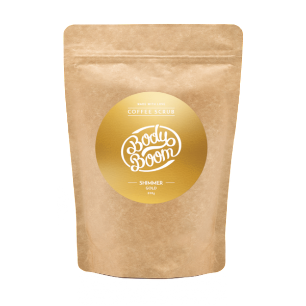 Bodyboom Shimmer Gold 200 G-BodyBoom-UAE-BEAUTY ON WHEELS