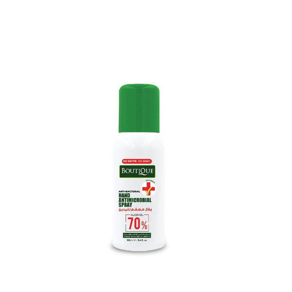 Boutique-Boutique Hand Antimicrobial Spray 100ml-BEAUTY ON WHEELS