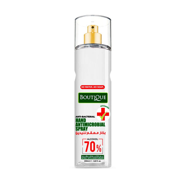 Boutique-Boutique Hand Antimicrobial Spray 200ml-BEAUTY ON WHEELS