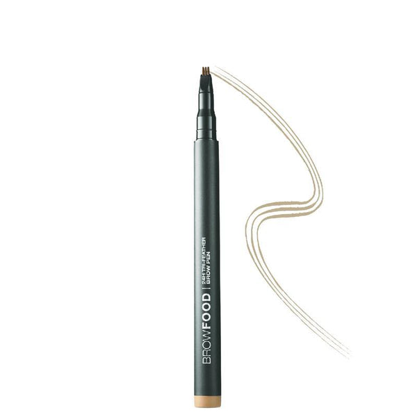 Browfood 24H Tri-Feather Brow Pen Dark Blonde-Lashfood-UAE-BEAUTY ON WHEELS