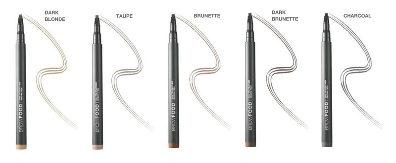 Browfood 24H Tri-Feather Brow Pen Dark Brunette-Lashfood-UAE-BEAUTY ON WHEELS