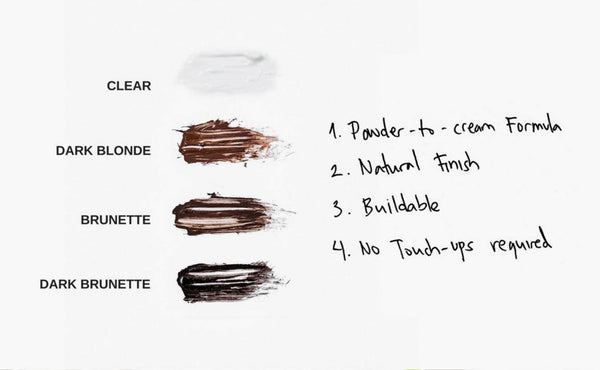 Browfood Tinted Brow Enhancing Gelfix 8Ml Brunette-Lashfood-UAE-BEAUTY ON WHEELS
