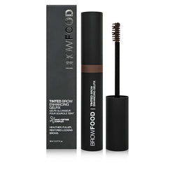 Browfood Tinted Brow Enhancing Gelfix 8Ml Dark Brunette - BeautyOnWheels