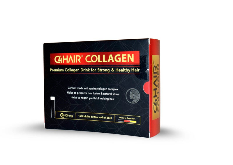 C4-Drinkable Collagen Ampoules 14's - Hair-BEAUTY ON WHEELS
