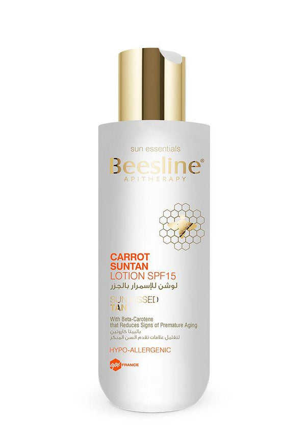 Carrot Suntan Lotion SPF 15-Beesline-UAE-BEAUTY ON WHEELS