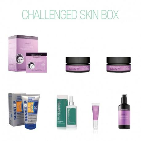 Challenged Skin Box-DERMAdoctor-UAE-BEAUTY ON WHEELS