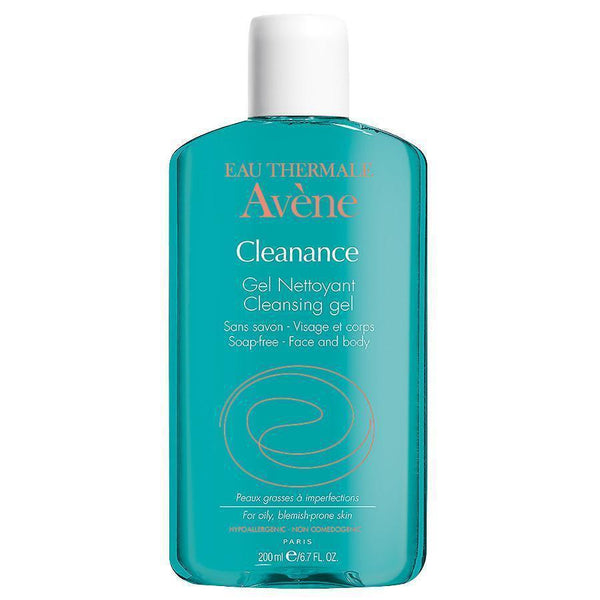 Cleanance Cleansing Gel 200 Ml-Avene-UAE-BEAUTY ON WHEELS