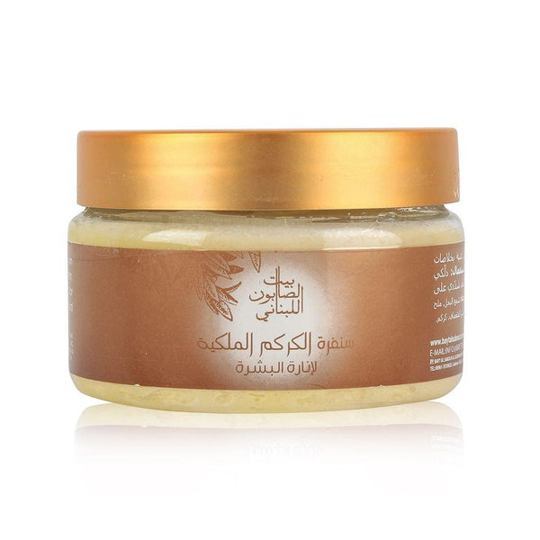 Bayt Al Saboun-Curcuma Royal Scrub 300G Online UAE | BEAUTY ON WHEELS