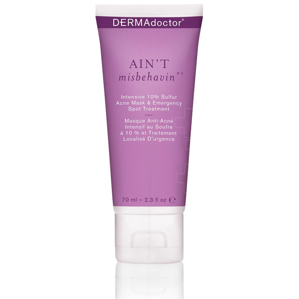 Ain't Misbehavin' Intensive 10% Sulfur Acne Mask & Spot Treatment-DERMAdoctor-UAE-BEAUTY ON WHEELS
