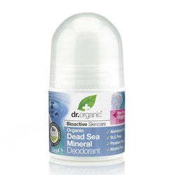 Dead Sea Minerals Deodorant 50 Ml-Dr Organic-UAE-BEAUTY ON WHEELS