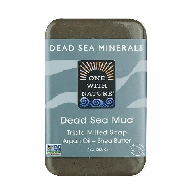 Dead Sea Mud Bar Soap-One With Nature-UAE-BEAUTY ON WHEELS
