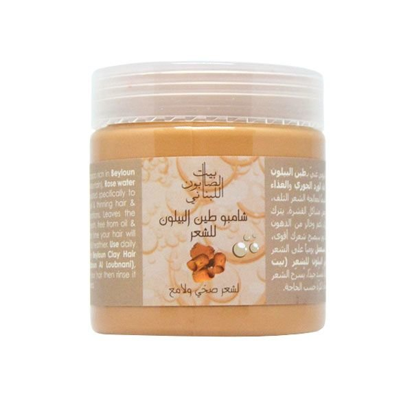 Beyloun Clay Shampoo 300G-Bayt Al Saboun-UAE-BEAUTY ON WHEELS