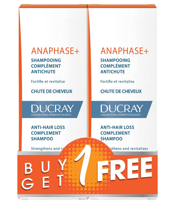 Ducray-Anaphase Plus Shampoo Hair Loss 200 Ml B1G1 Free-UAE | BEAUTY ON WHEELS