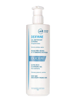 Dexyane Ultra-Rich Cleansing Gel 400Ml-Ducray-UAE-BEAUTY ON WHEELS