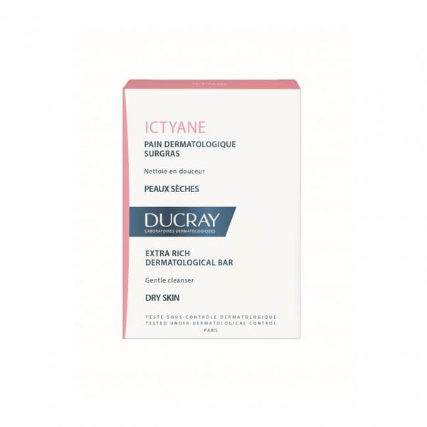 Ictyane Ultra-Rich Dermatological Soap Bar 200G-Ducray-UAE-BEAUTY ON WHEELS