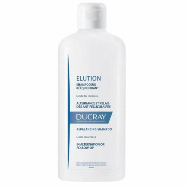 Elution Shampoo Rebalance Dermo 200 Ml-Ducray-UAE-BEAUTY ON WHEELS