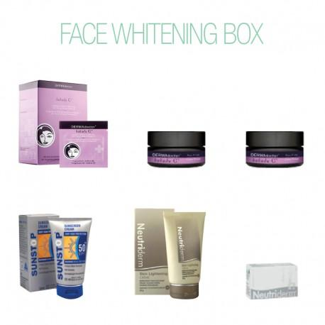 Face Whitening Box-Face Care-Care Kits-BEAUTY ON WHEELS-UAE-Dubai-Abudhabi-KSA-الامارات