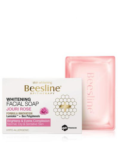 Whitening Facial soap Jouri Rose-Beesline-UAE-BEAUTY ON WHEELS