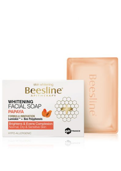 Whitening Facial soap Papaya-Beesline-UAE-BEAUTY ON WHEELS