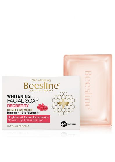 Whitening Facial soap Redberry-Beesline-UAE-BEAUTY ON WHEELS