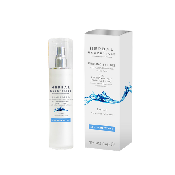 Firming Eye Gel With Sodium Hyaluronate & Aloe Vera-Herbal Essentials-UAE-BEAUTY ON WHEELS