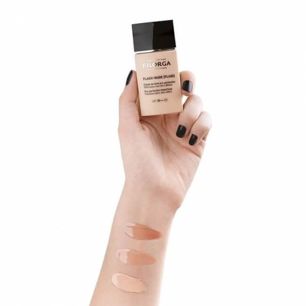 Filorga Flash-Nude Fluid Pro-Perfection 01 Beige Nude 30Ml-Makeup-Filorga-BEAUTY ON WHEELS-UAE-Dubai-Abudhabi-KSA-الامارات