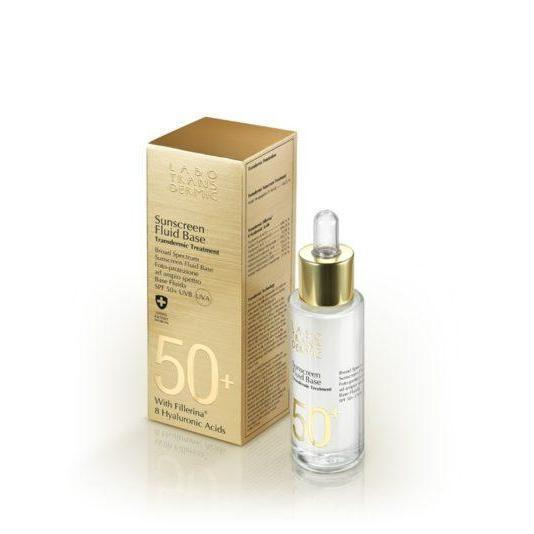 Fluid Base Spf 50+ Uva Uvb-Face Care-Labo Transdermic-BEAUTY ON WHEELS-UAE-Dubai-Abudhabi-KSA-الامارات