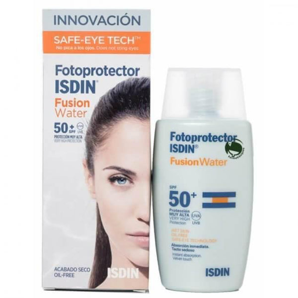 Fotoprotector Isdin Fusion Water 50+ 50Ml-ISDIN-UAE-BEAUTY ON WHEELS