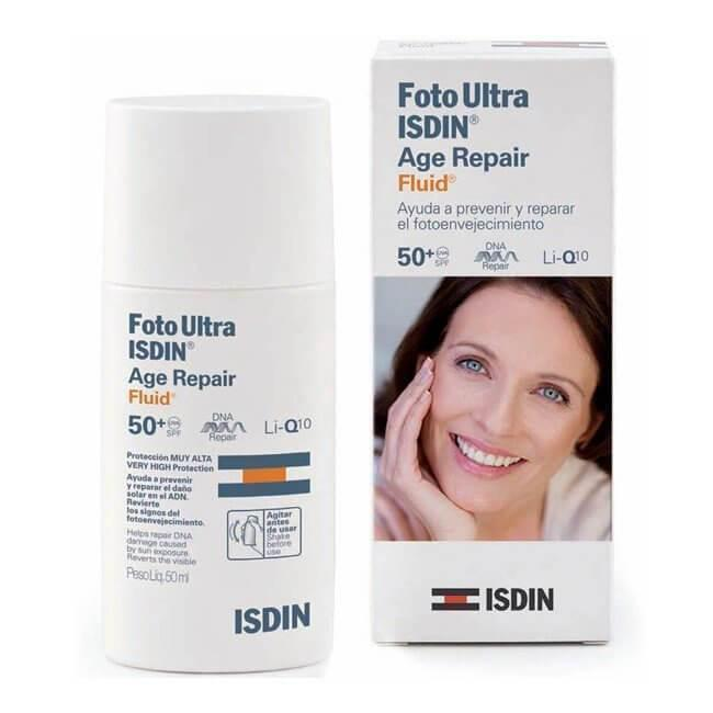 Fotoultra Isdin Age Repair Fluid 50Ml-ISDIN-UAE-BEAUTY ON WHEELS