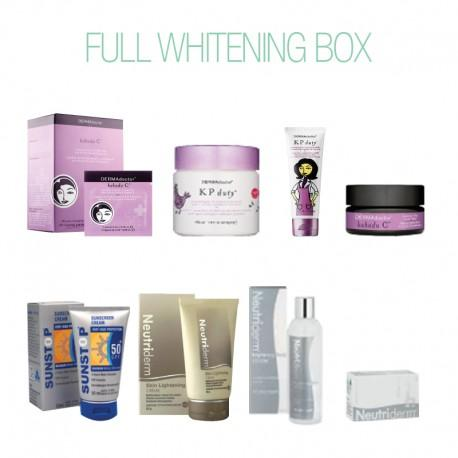 Full Whitening Box-Face Care-Care Kits-BEAUTY ON WHEELS-UAE-Dubai-Abudhabi-KSA-الامارات