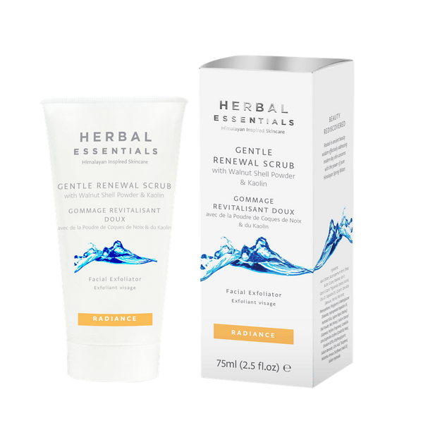Gentle Renewal Scrub With Walnut Shell Powder & Kaolin-Herbal Essentials-UAE-BEAUTY ON WHEELS