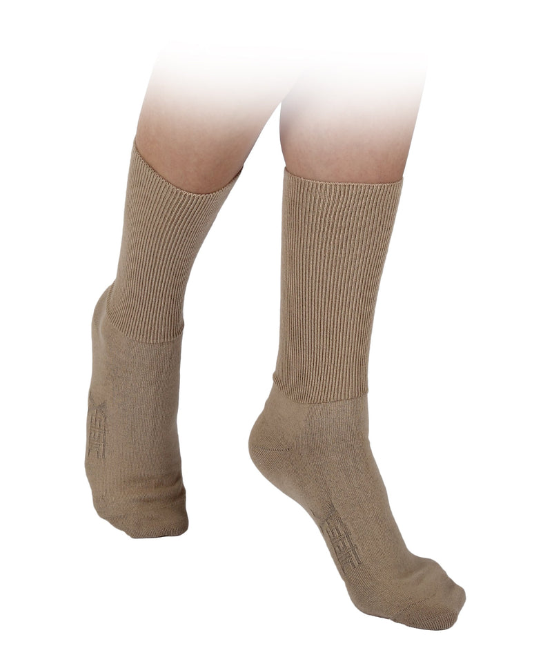 Go Silver-Diabetic Socks Brown-BEAUTY ON WHEELS
