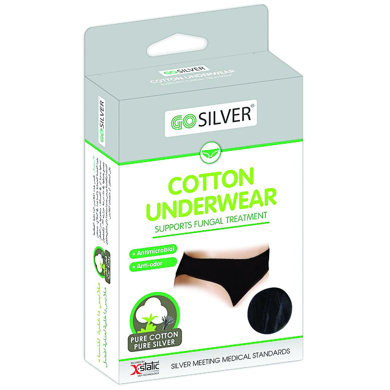 Go Silver-Women Underwear White-BEAUTY ON WHEELS