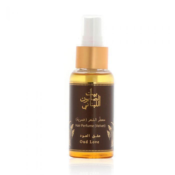 Bayt Al Saboun-Hair Perfume (Velvet) Oud Love 80 Ml Online UAE | BEAUTY ON WHEELS