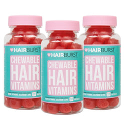 Hairburst Chewable Hair Vitamins 3 months Supply-Hairburst-UAE-BEAUTY ON WHEELS