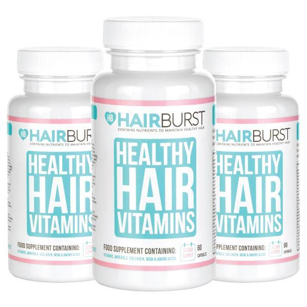 Hairburst Hair Vitamins 3 Month Supply-Hairburst-UAE-BEAUTY ON WHEELS
