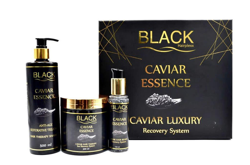 Hairplexx-Hairplexx Black Caviar Luxury Recovery Kit (NEW)-BEAUTY ON WHEELS