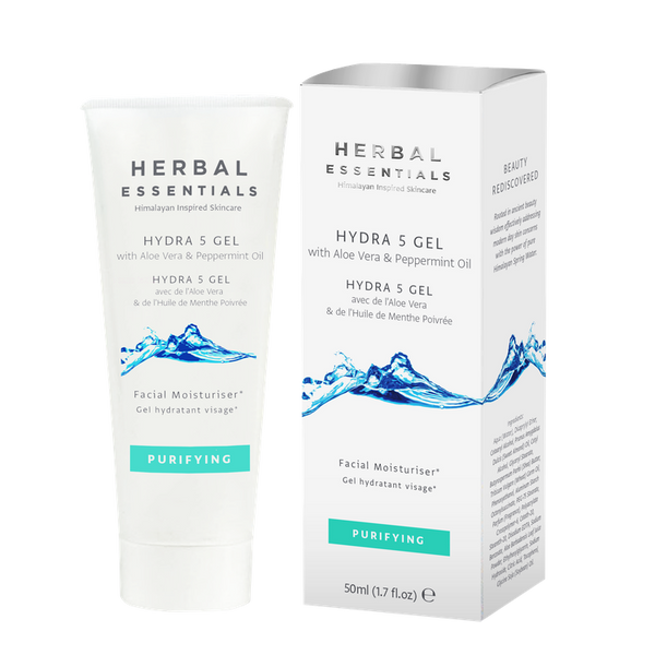 Hydra 5 Gel With Aloe Vera & Peppermint Oil-Herbal Essentials-UAE-BEAUTY ON WHEELS