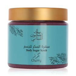 Bayt Al Saboun-Cherry Body Sugar Scrub 500G Online UAE | BEAUTY ON WHEELS
