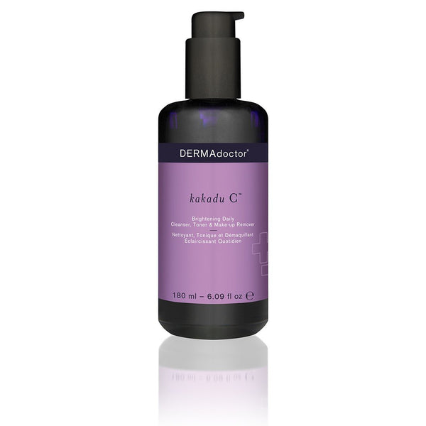Kakadu C Brightening Daily Cleanser, Toner & Make-Up Remover 180Ml-DERMAdoctor-UAE-BEAUTY ON WHEELS
