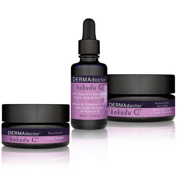 Kakadu C Mask, Serum & Face Crème Trio-Face Care-DERMAdoctor-BEAUTY ON WHEELS-UAE-Dubai-Abudhabi-KSA-الامارات