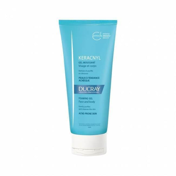Keracnyl Gel Moussant 200 Ml-Ducray-UAE-BEAUTY ON WHEELS