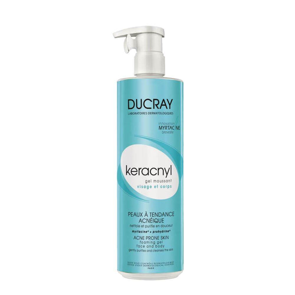 Keracnyl Gel Moussant 400 Ml-Ducray-UAE-BEAUTY ON WHEELS