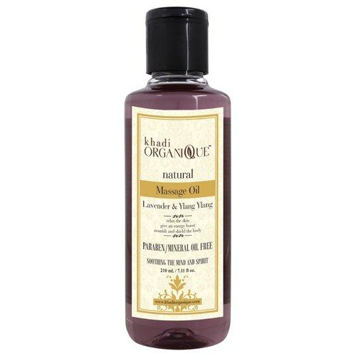 Khadi Organique-Lavender & Ylang Ylang Massage Oil-BEAUTY ON WHEELS