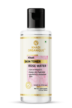 Khadi Organique-Pure Rose Water Skin Toner-BEAUTY ON WHEELS