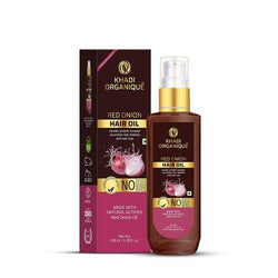 Khadi Organique-Red Onion Hair Oil-BEAUTY ON WHEELS