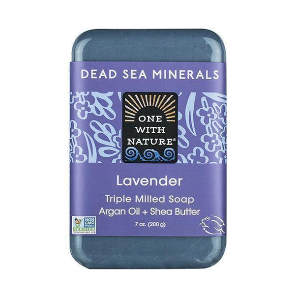 Lavender Bar Soap-One With Nature-UAE-BEAUTY ON WHEELS